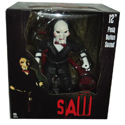 Talking Billy Puppet Figure On Tricycle By Neca From The James Wan Horror Movie Saw