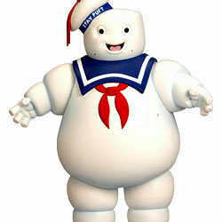 Stay Puft Marshmallow Man SDCC Exclusive Matty Collector 24 Inch Figure From The Movie Ghostbusters By Mattel