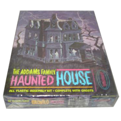 The Addams Family Haunted House 1995 Polar Lights Unopened Model Kit