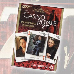 James Bond Daniel Craig 007 Casino Royale Picture Themed Playing Cards