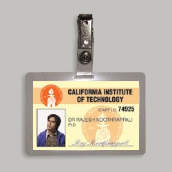 Dr. Rajesh Koothrappali Phd. Laminated Cosplay I.D. Badge From The Television Series The Big Bang Theory