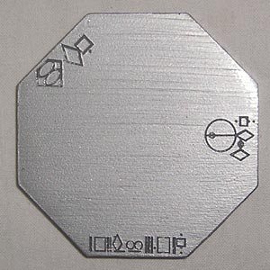 Smallville Metallic Octagon Key Replica Television Prop Superman