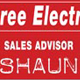Shaun Sales Advisor Foree Electrical Badge (Shaun Of The Dead)